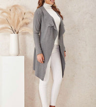 Load image into Gallery viewer, Grey Cardigan By Miracle