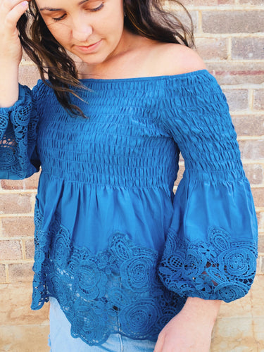 Dixie Lace Blouse