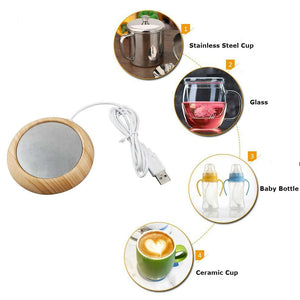 Portable Coffee or Tea Mug Warmer for Office/Home