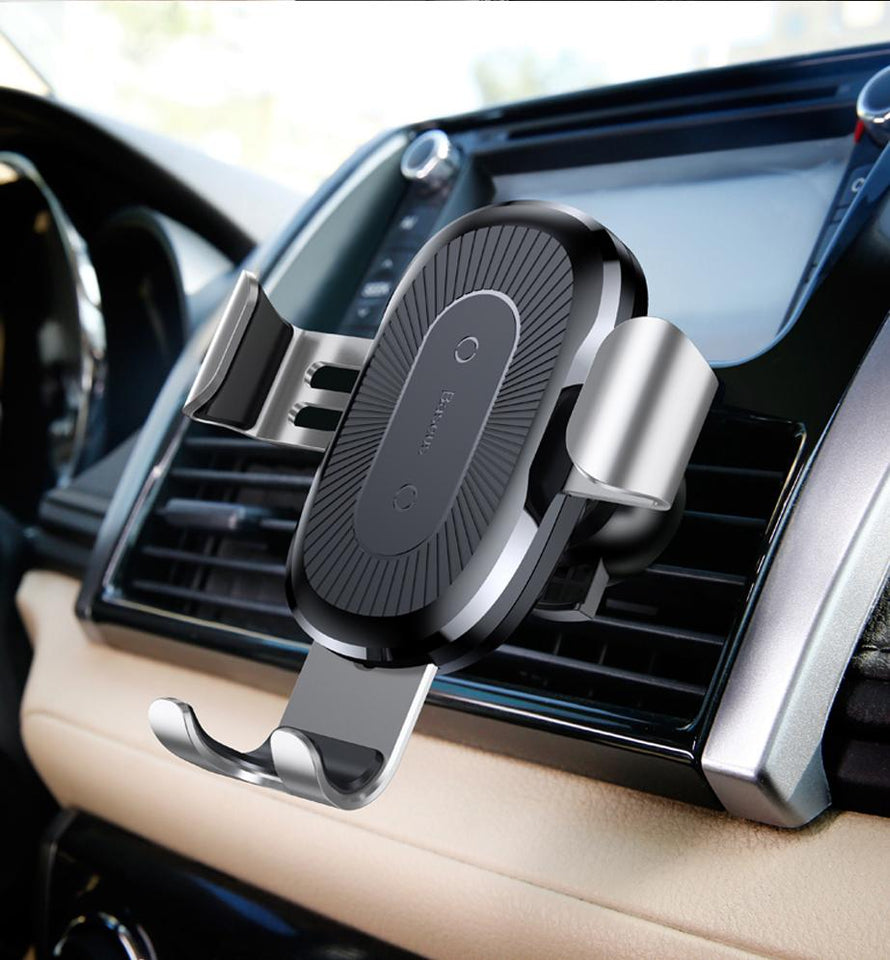 Qi Wireless Charger Car Mount Phone Holder