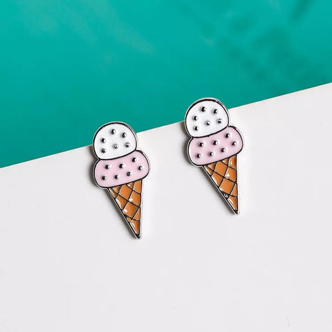 Cute Ice Cream Earrings
