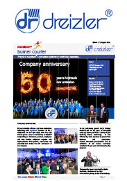 Dreizler Marathon Burner Courier Issue 17