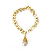 Marrakesh Pearl Bracelet Gold