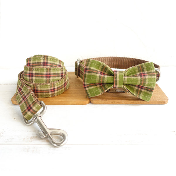 AUTUMN FOREST - Collar and Leash Set