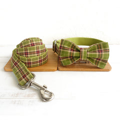 SPRING FOREST - Collar and Leash Set