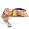 BLUE BOHEMIAN - Collar and Leash Set
