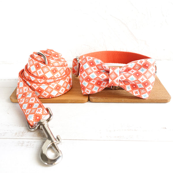 FRESH PATTERN - Collar and Leash Set