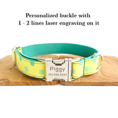 LITTLE FOOTPRINTS - Personalized Dog Collar