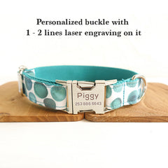 BUBBLES - Personalized Dog Collar