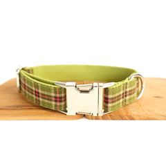 SPRING FOREST - Personalized Dog Collar
