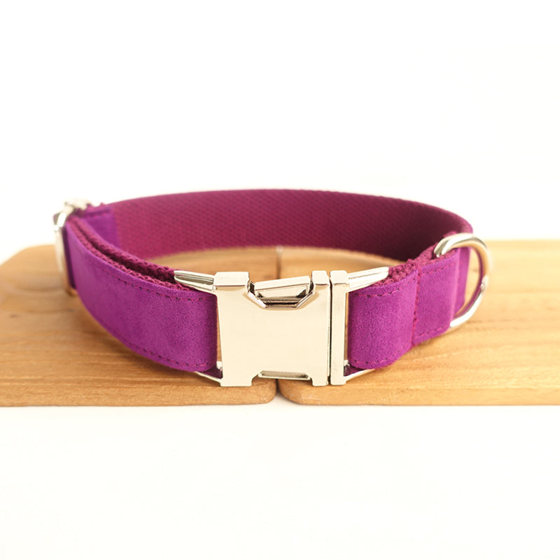PURPLE - Personalized Dog Collar