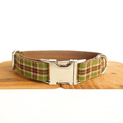 AUTUMN FOREST - Personalized Dog Collar
