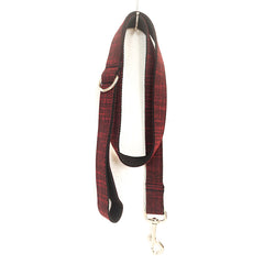 THE RED SUIT - Collar and Leash Set