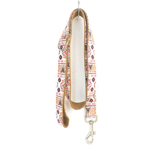 BROWN BOHEMIAN - Personalized Dog Leash
