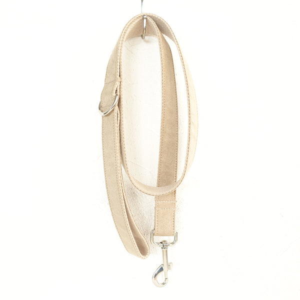 BEIGE COLOR - Personalized Dog Leash