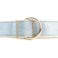 LIGHT WASH JEAN - Personalized Dog Leash