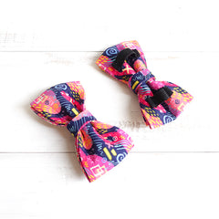 GRAFFITI - Handmade Dog Bow Tie