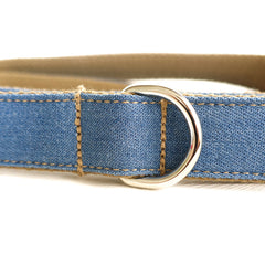 THE BLUE JEAN - Personalized Dog Leash