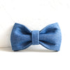 The Blue Jean - Handmade Dog Bow Tie