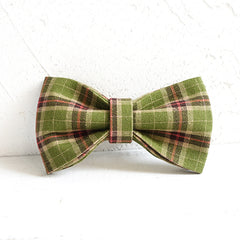 FOREST - Handmade Dog Bow Tie