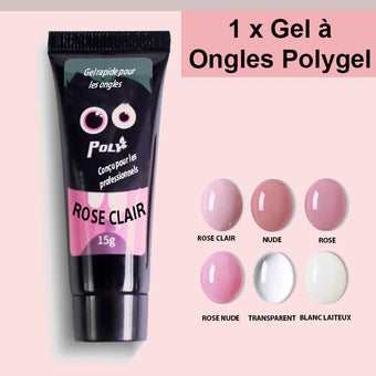 Gel à Ongles Polygel Madame Cosmetique