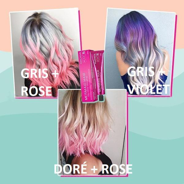 Shampoing Colorant Pour Cheveux - ColorHair™ Madame Cosmetique Rose