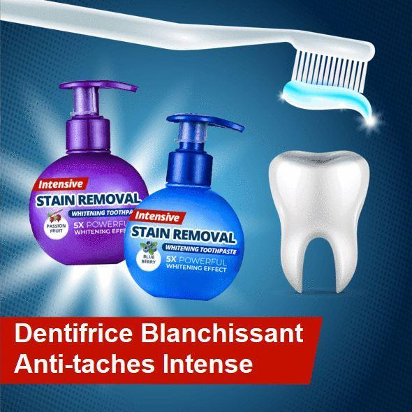 Dentifrice Blanchissant Anti-taches Intense Madame Cosmetique Myrtille