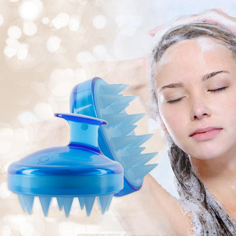 Brosse pour Shampoing en Silicone
