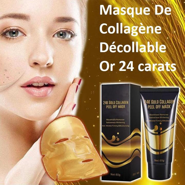 Masque De Collagène Décollable - Or 24 carats Madame Cosmetique