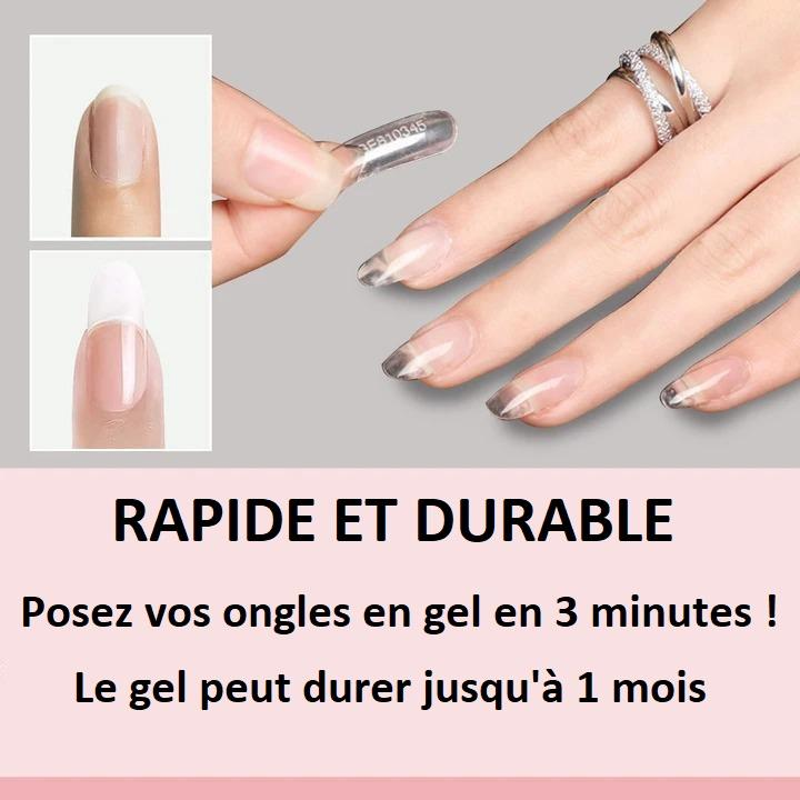 Gel à Ongles Polygel Madame Cosmetique Rose clair