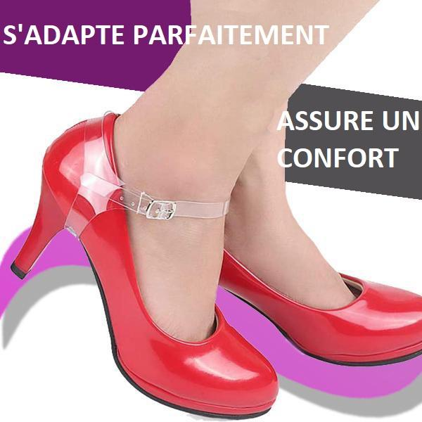 Sangle Amovible Pour Talon Haut Madame Cosmetique Transparent