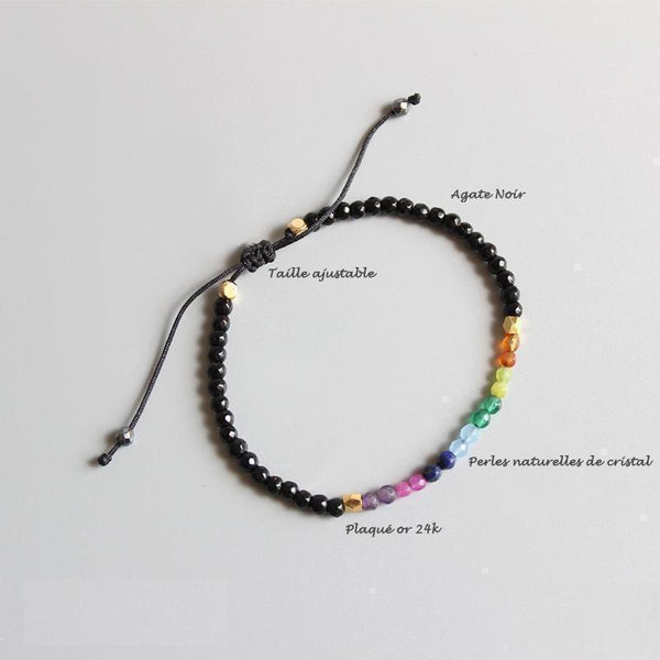 Bracelet 7 chakras et 12 constellations Madame Cosmetique 12 Constellations