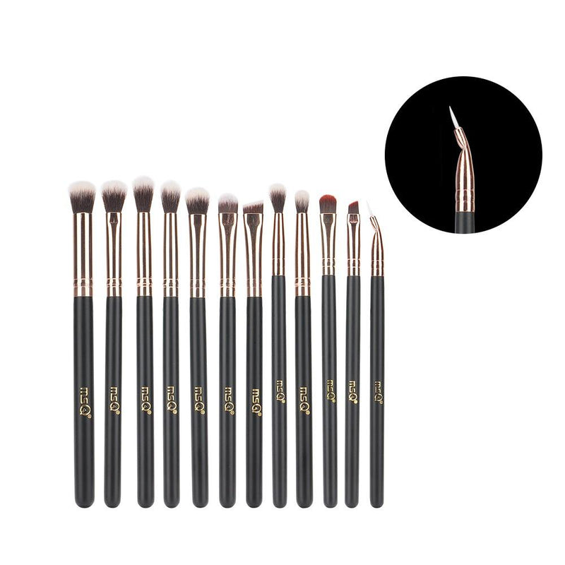 Kit de Pinceaux maquillage Professionnel 12 PCS 123maquillage