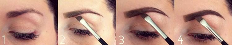 Pinceau duo Sourcils 123maquillage