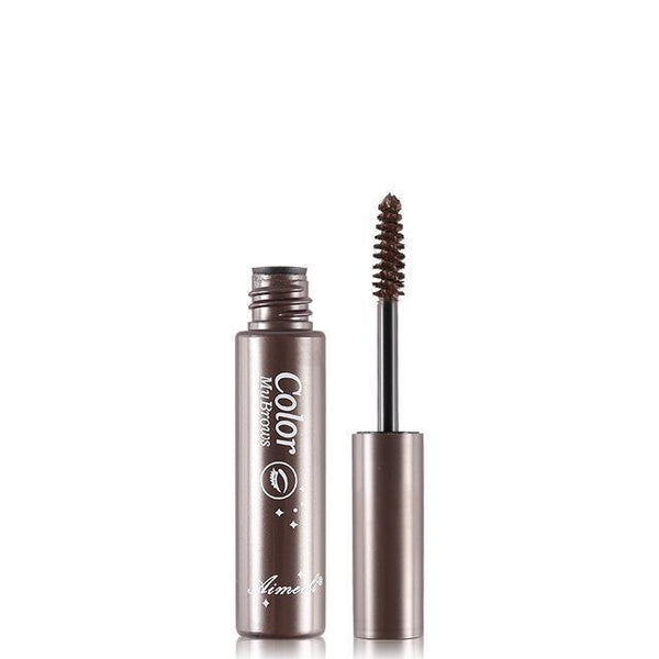 Gel à sourcils Waterproof 123maquillage Marron foncé