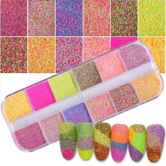 Kit paillettes Manucure 123maquillage Kit 1