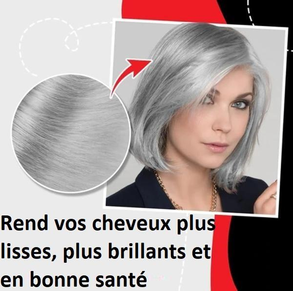 Coloration Cheveux Grise Métallique - ColorHair™ top10 Madame Cosmetique