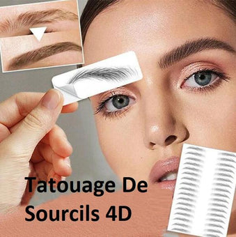Tatouage De Sourcils 4D (lot de 10) Madame Cosmetique
