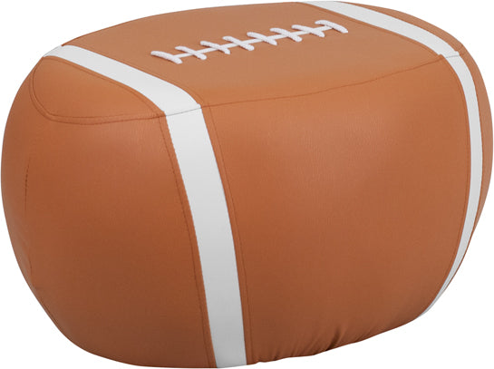 Kid's Football Stool in Football Print