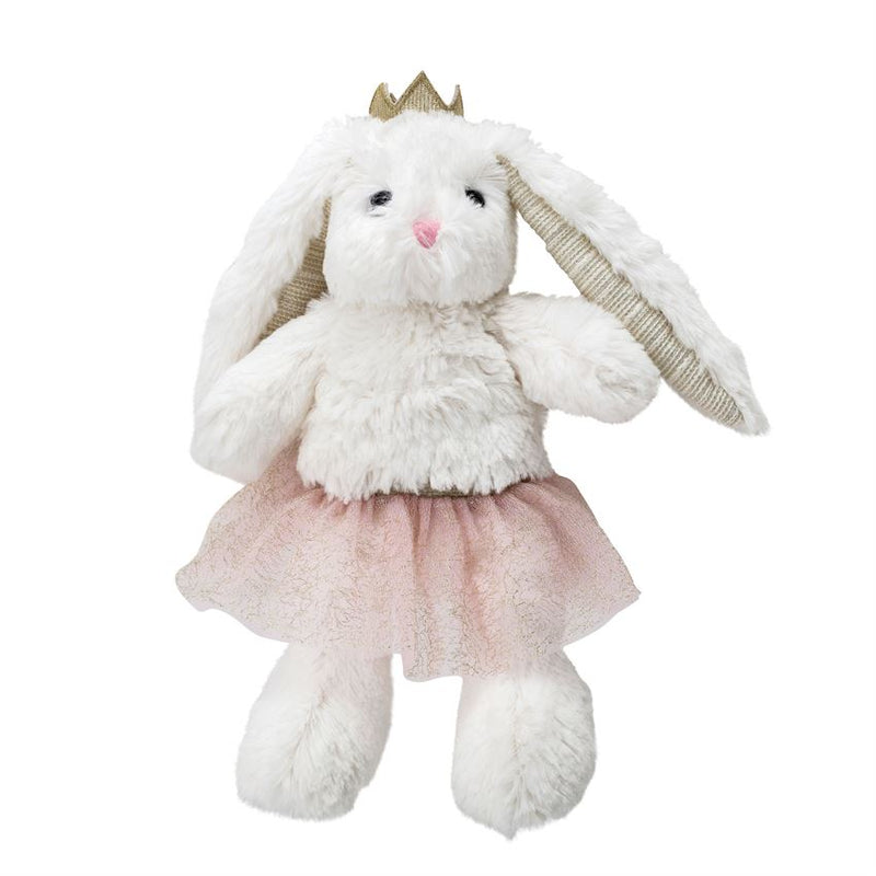 Cotton Princess Bunny Plush Toy in White and Pink