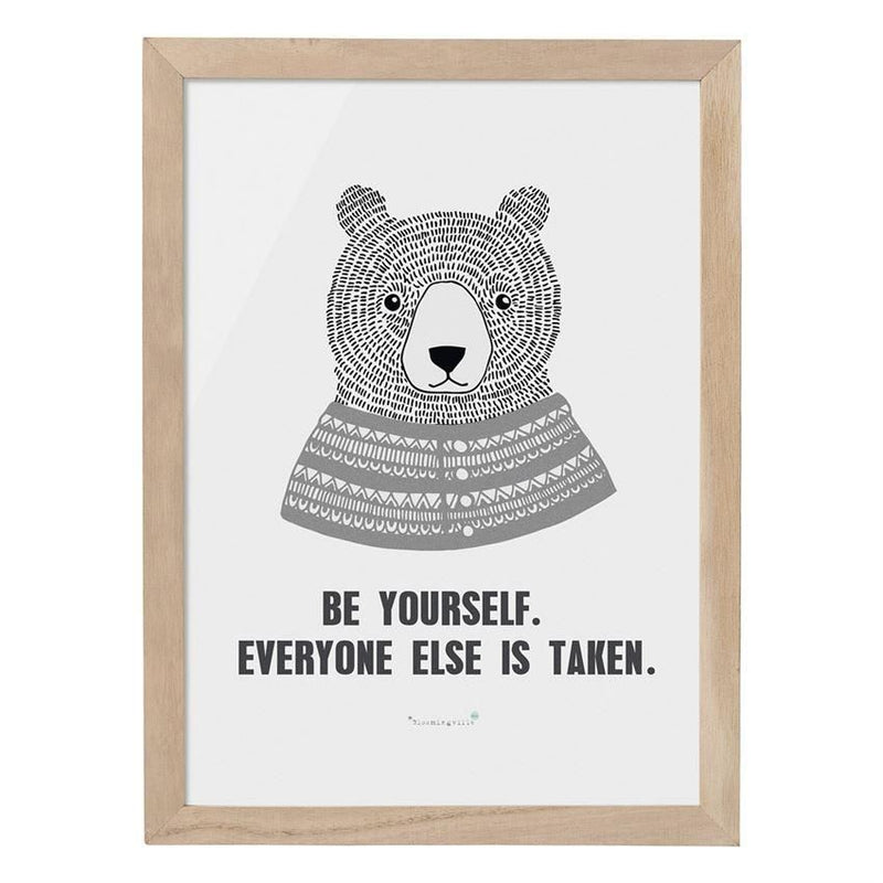 Be Yourself Everyone Else Is Taken Wall Decor