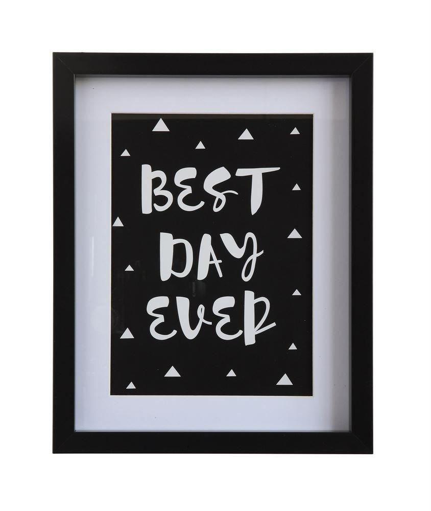 Best Day Ever Wall Decor