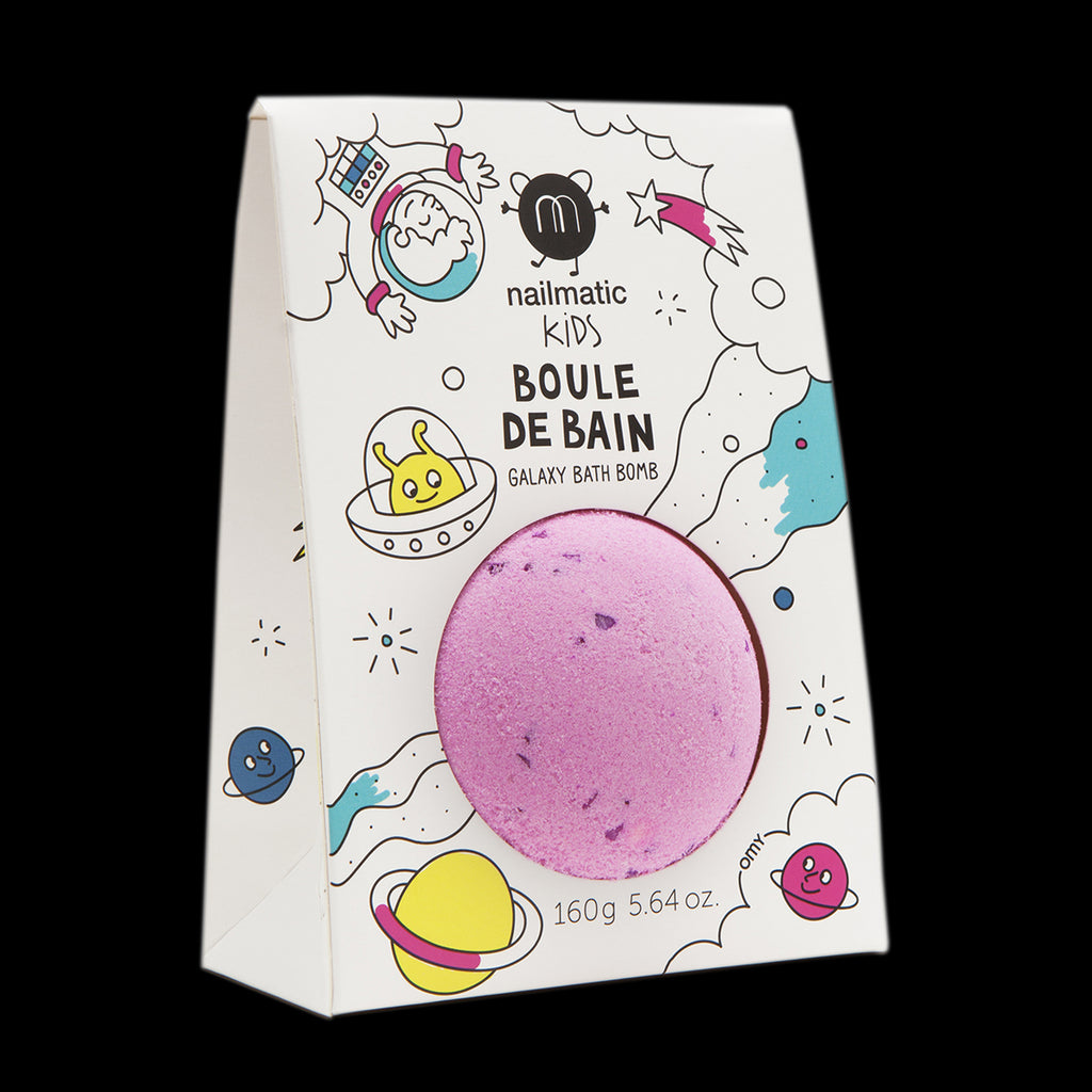 Coloring and Soothing Bath Bomb for Kids - Cosmic