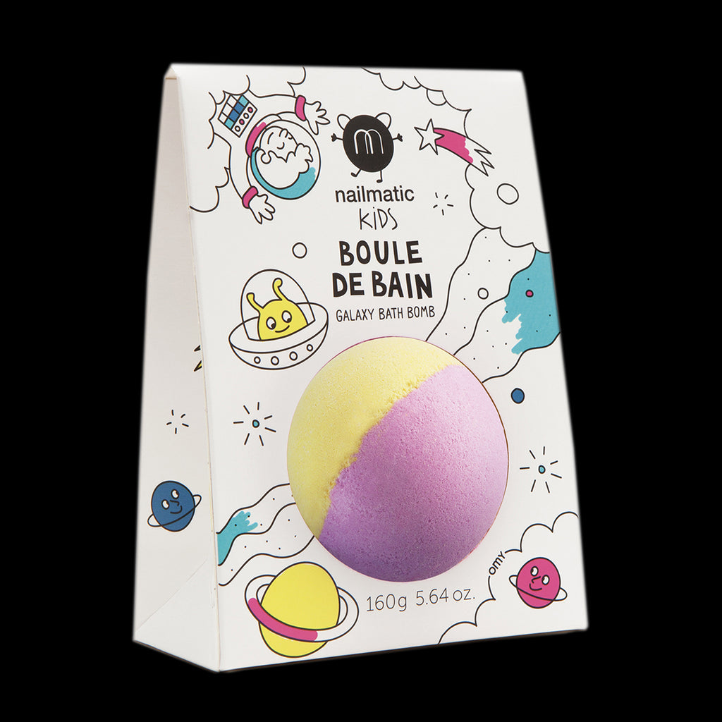 Coloring and Soothing Bath BomB for Kids - Spoutnik