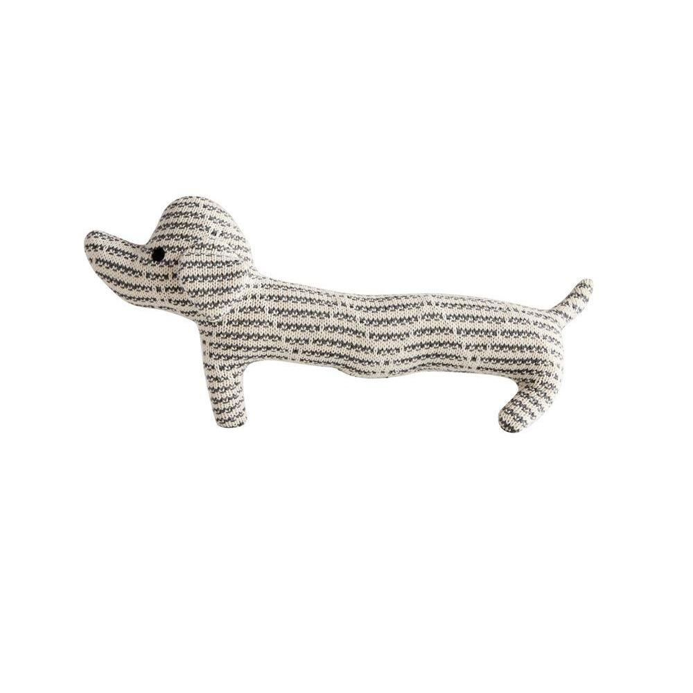 Cotton Knit Dog Plush