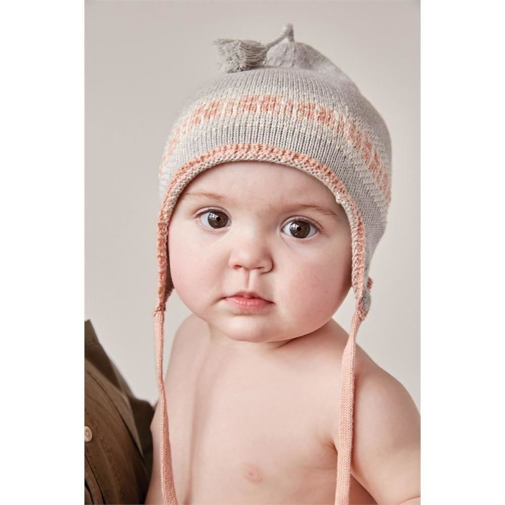 Cotton Knit Hat - Clothing