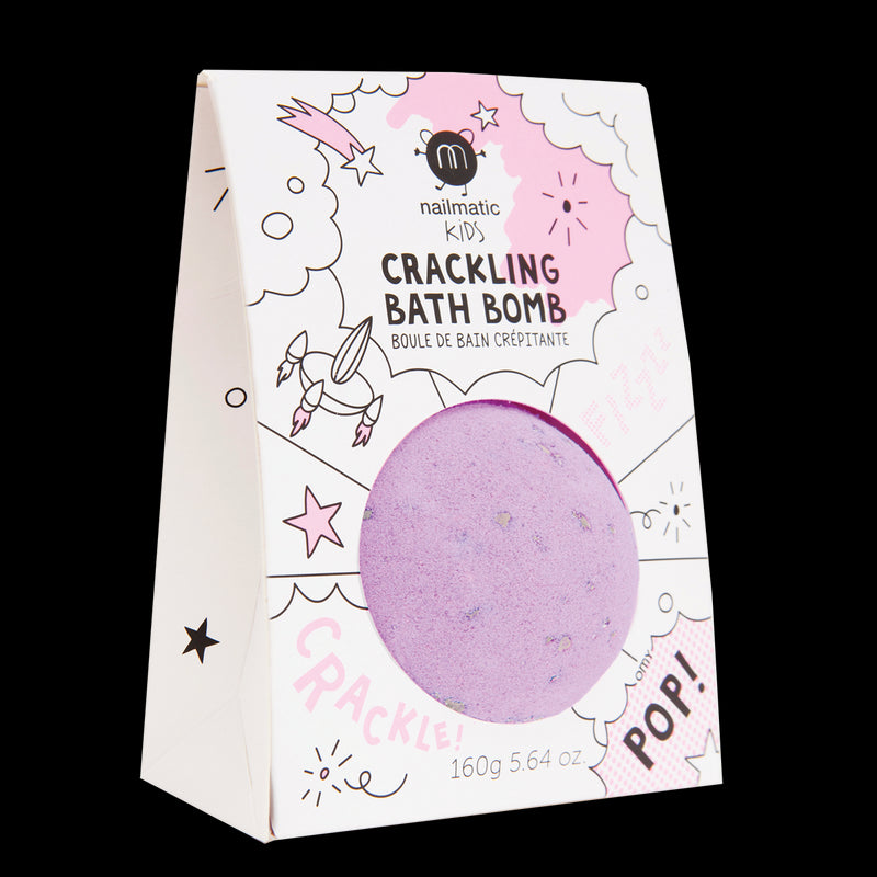 Crackling Bath Bomb - Purple Crackle
