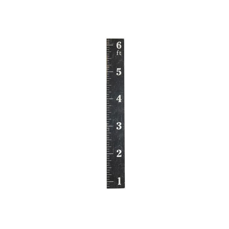 Wood Wall Ruler with Ruler Growth Chart Wall Decor