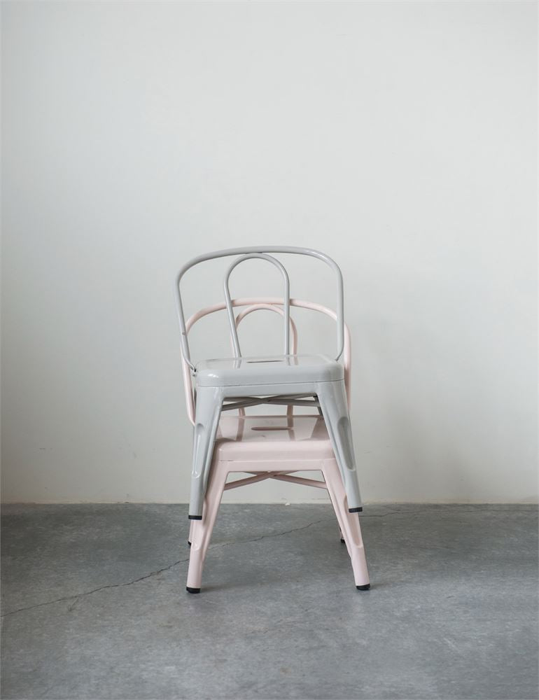 Metal Chair in Pink