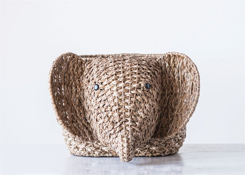 Woven Bangkuan Elephant Basket for Storage